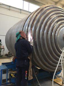Saldatura serbatoi industriali | COIM Srl