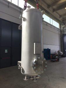 Serbatoio industriale cilindrico | COIM Srl